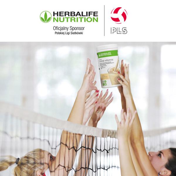 Herbalife z Polską Ligą Siatkówki
